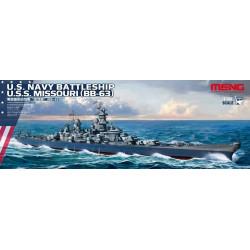 U.S. Navy Battleship Missouri (BB-63). Escala: 1:700. Marca: Meng. Ref: PS-004.