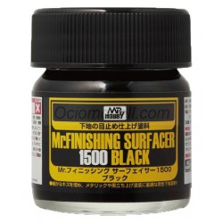 Mr. Finishing surfacer 1500 black. Imprimación Negra. Marca MR.Hobby. Ref: SF288.