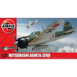 Misubishi A6M2b ZERO 21. Escala 1:72. Marca Airfix. Ref: A01005.