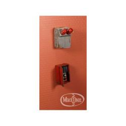 Transformador eléctrico Mod B. Escala 1:35. Marca Macone. Ref: MAC35129.