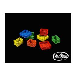 Cajas de plástico. Escala 1:35. Marca Macone. Ref: MAC35132.