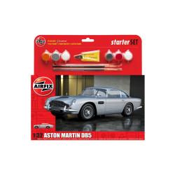Aston Martin DB5, Starter. Escala 1:32. Marca Airfix. Ref: A50089A.