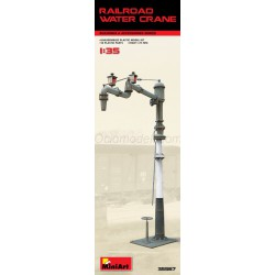 Railroad water crane. Escala 1:35. Marca Miniart. Ref: 35567.