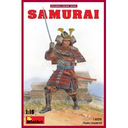 Figura Samurai. Escala 1:16. Marca Miniart. Ref: 16028.