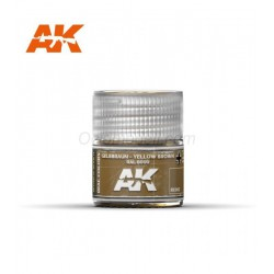 RC WWII, Gelbbraun yellow brown RAL 8000. Cantidad 10 ml. Marca AK Interactive. Ref: RC063.