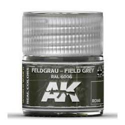 RC WWII, Feldgrau field grey RAL 6006. Cantidad 10 ml. Marca AK Interactive. Ref: RC048.