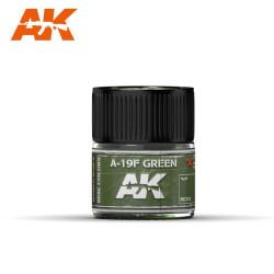 RC Air, A-19F Grass Green. Cantidad 10 ml. Marca AK Interactive. Ref: RC312.