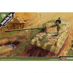 German King Tiger Last Production. Escala 1:35. Marca Academy. Ref: 13229.