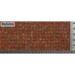Teja Arabe ( Policromado ) Rojo, acabado natural. Ref: 043TA123, Marca Redutex.