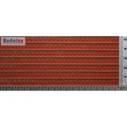 Teja Francesa Roja, acabado natural, Ref: 043TF113. Marca Redutex.