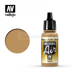 Acrilico Model air, US Tierra Amarilla, US earth yellow. Bote 17 ml. Marca Vallejo. Ref: 71.291.