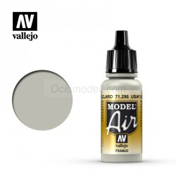 Acrilico Model air, USAAF Light gray, curtiss grey. Bote 17 ml. Marca Vallejo. Ref: 71.296.