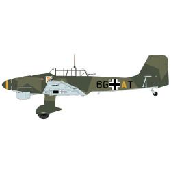 "Calcas Avión Junkers JU-87/B1 "" 6G-AT "". Escala 1:72. Marca Trenmilitaria."