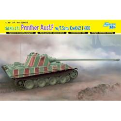 Sd.Kfz.171 Panther Ausf.F w/7.5cm KwK42 L/100. Escala 1:35. Marca Dragon. Ref: 6799.