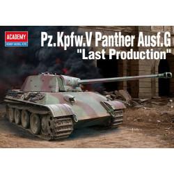 "Tanque Pz.Kpfw.V Panther Ausf.G ""Última producción"". Escala 1:35. Marca Academy. Ref: 13523."