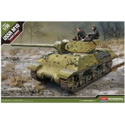 "USSR M10 ""Lend-Lease"" with 5 figures. Escala 1:35. Marca Academy. Ref: 13521."
