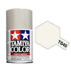 Spray blanco perlado ( 85045 ). Bote 100 ml. Marca Tamiya. Ref: TS-45.