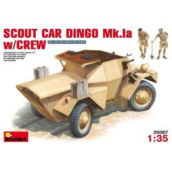 SCOUT CAR DINGO Mk.1a w/CREW. Escala 1:35. Marca Miniart. Ref: 35087.