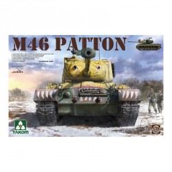 Tanque Medio US Patton M46. Escala 1:35. Marca Takom. Ref: 2117.