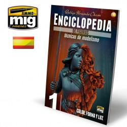 ENCICLOPEDIA DE TECNICAS DE MODELISMO DE FIGURAS VOL. 1 - COLOR, FORMA Y LUZ. Marca Ammo of Mig Jimenez. Ref: AMIG6231.