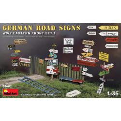 Set de carreteras alemanas WWII (frente del este 1). Escala 1:35. Marca Miniart. Ref: 35602.