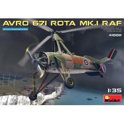 AVRO 671 ROTA Mk.1 R.A.F. Autogiro. Escala 1:35. Marca Miniart. Ref: 41008.