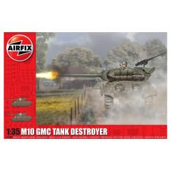 M10 GMC (U.S. Army). Escala 1:35. Marca Airfix. Ref: A1360.