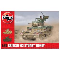 M3 Stuart, Honey (British Version). Escala 1:35. Marca Airfix. Ref: A1358.