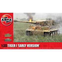 Tiger-1, Early Version. Escala 1:35. Marca Airfix. Ref: A1363.