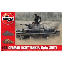 German Light Tank Pz.Kpfw.35(t). Escala 1:35. Marca Airfix. Ref: A1362.