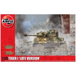 Tiger-1, Late Version. Escala 1:35. Marca Airfix. Ref: A1364.
