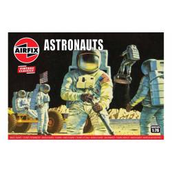 Set de Figuras Astronautas. Serie Vintage classics. Escala 1:76. Marca Airfix. Ref: A00741V.
