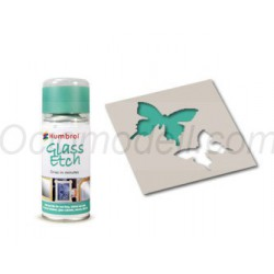 Spray Glass Etch green. Bote 150 ml. Marca Humbrol. Ref: AD7703.