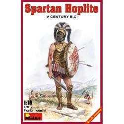 Figura Spartan  hoplite V century b.c.. Escala 1:16. Marca Miniart. Ref: 16012.