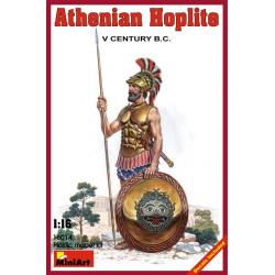 Figura athenian hoplite V century b.c.. Escala 1:16. Marca Miniart. Ref: 16014.