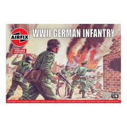 Set de Figuras de Infanterìa Alemana WWII. Escala 1:76. Marca Airfix. Ref: A00705V.