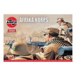 Set de Figuras Africa Korps, WWII. Escala 1:76. Marca Airfix. Ref: A00711V.
