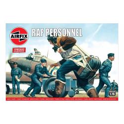 Set de Figuras RAF personnel. Escala 1:76. Marca Airfix. Ref: A00747V.