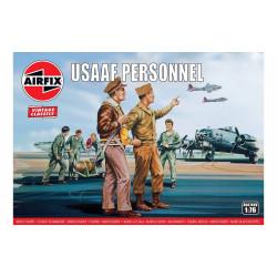 Set de Figuras USAAF personnel. Escala 1:76. Marca Airfix. Ref: A00748V.