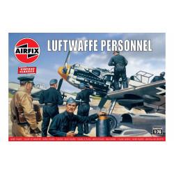 Set de Figuras Luftwaffe personnel. Escala 1:76. Marca Airfix. Ref: A00755V.