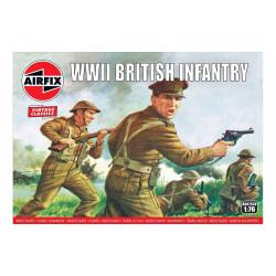 Set de Figuras Infanteria británica WWII del N. Europa . Escala 1:76. Marca Airfix. Ref: A00763V.