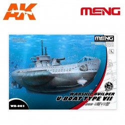 WARSHIP BUILDER U-BOAT TYPE VII. Serie world war toons. Marca Meng. Ref: WB-003.