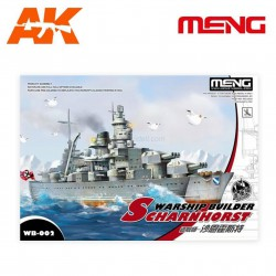 Model-Warship Builder SCHARNHORST. Serie world war toons. Marca Meng. Ref: WB-002.