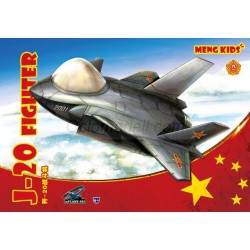 Chinese J-20. Serie world war toons. Marca Meng. Ref: MPLANE-005.