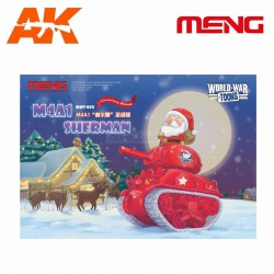 M4A1 Sherman Christmas Edition. Serie world war toons. Marca Meng. Ref: WWV-002.