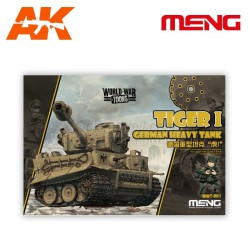 TIGER I GERMAN HEAVY. Serie world war toons. Marca Meng. Ref: WWT-001.