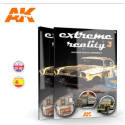 Realsmo extremo 3, vehículos y entornos. En español. Marca AK Interactive. Ref: AK509.
