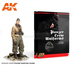 Panzer Crew Uniforms Painting Guide. Learning Series 02. En ingles. Marca AK Interactive. Ref: AK272.