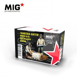 "EASTER GIFTS"" WWII U.S. ARTILLERY CREW. Escala 1:35. Marca Mig productions. Ref: MP35-416."