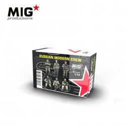 Russian moderns crew. Escala 1:72. Marca Mig productions. Ref: MP72-412.